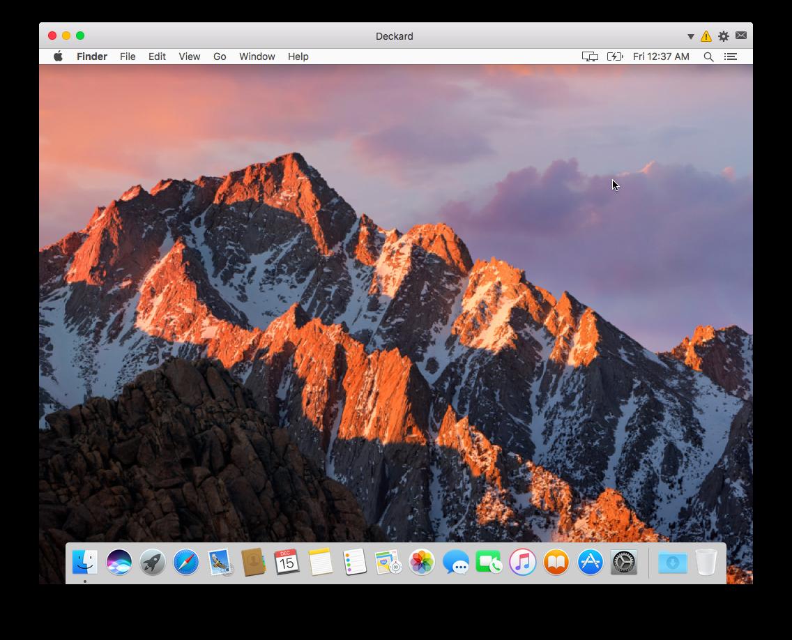 Mac on Mac Virtualization
