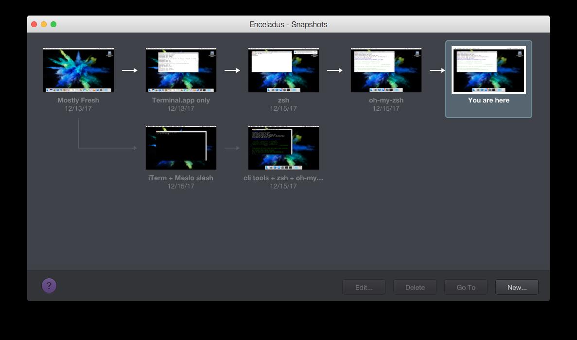 Deckard snapshots
